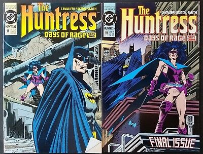 DC Comics Copper Age The Huntress #18 and 19 Final Issues NM Unread!
