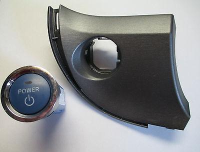 2011 2012 TOYOTA PRIUS PUSH BUTTON START IGNITION SWITCH POWER panel trim OEM