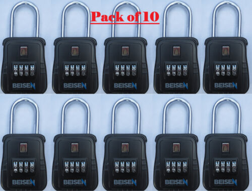 Pack of 10 Lockbox key lock box for realtor real estate 4 digit