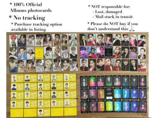SELECT OPTION OFFICIAL NCT PT.2 RESONANCE PHOTOCARDS ID ACCESS CARD ALBUM kihno
