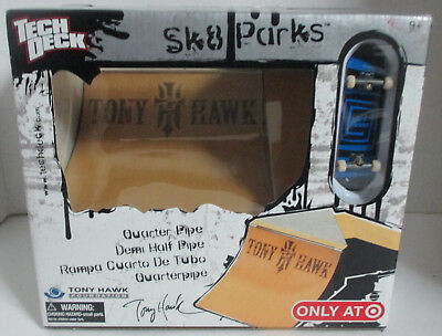 Tech Deck Sk8 Park Quarter Pipe & Demi Half Pipe Tony Hawk Skateboarding NEW for sale  Toledo