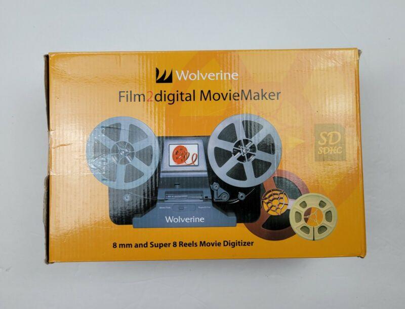 Wolverine Film2Digital Moviemaker 8mm and Super 8 Film Digitizer