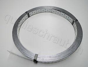 50m Rolle Windrispenband verzinkt Rispenband 40mm x 1,5 mm