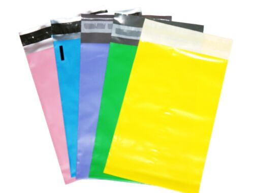 50 mixed color 6x9 Poly Mailers Shipping Envelope  Shipping Bags (10pcs/color)