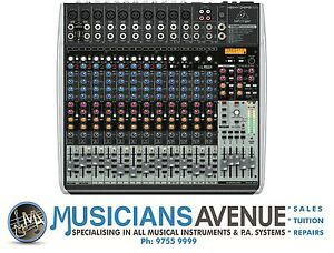 behringer xenyx qx2442usb 24 channel mixer ebay. Black Bedroom Furniture Sets. Home Design Ideas