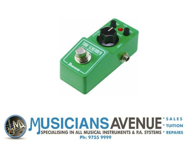 Ibanez TS Mini Tube Screamer Mini - Overdrive Guitar Effects Pedal TSmini