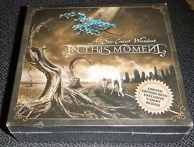 In This Moment - A Star Crossed Wasteland CD + Shirt NEW
