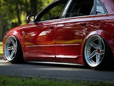 Audi B6 S4 A4 Relak CSR Style SIDE SKIRTS SIDESKIRTS Rockers  (2002 - 2005)