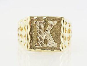 K Letter In Diamond Ring Jewelry & Watches > Fine Jewelry > Fine Rings > Precious Metal w...