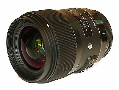 Sigma 35mm f/1.4 DG HSM Art Lens for Canon DSLR Cameras!! BRAND NEW!!