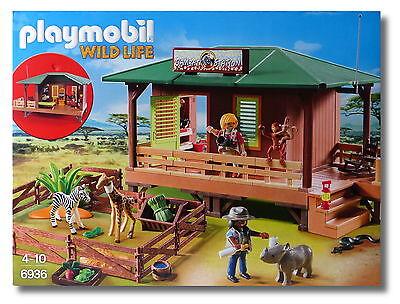 "Playmobil® Wild Life 6936 ""Rangerstation mit Tieraufzucht"" NEU & OVP!"