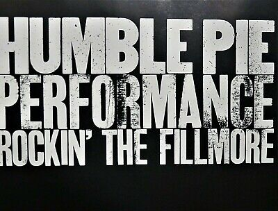 Rockin' the Fillmore by Humble Pie Live  NEW! CD,Peter Frampton,Steve Marriott,