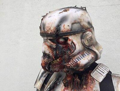 Star Wars Zombie Death Stormtrooper Cosplay Costume armour and helmet - Stormtrooper Zombie