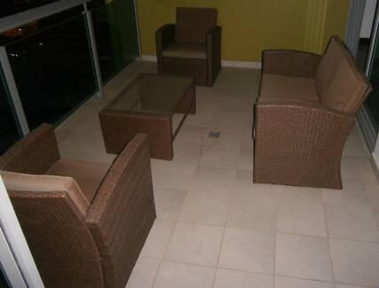4 Piece Outdoor Furniture Darwin CBD Darwin City Preview