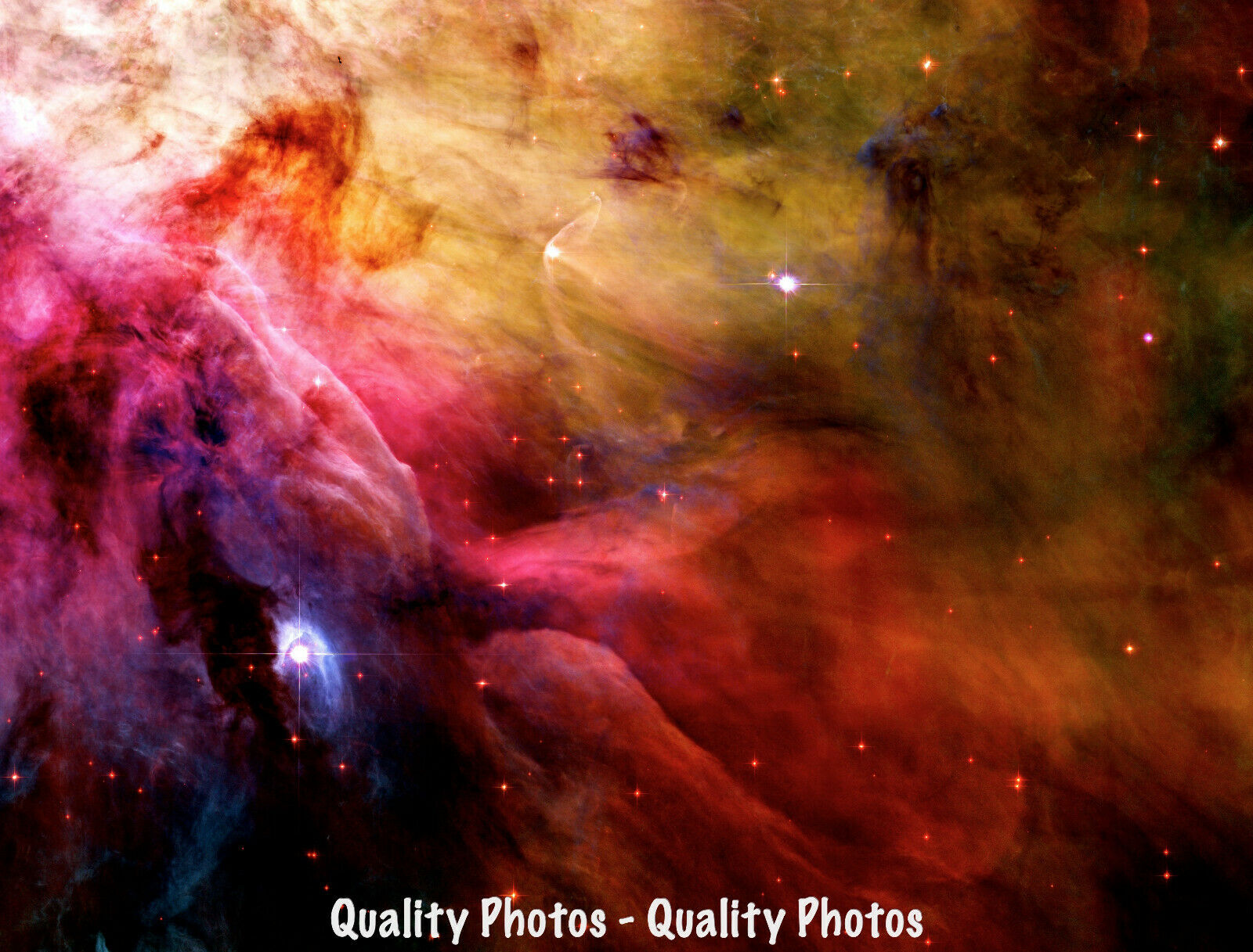 "Carina Nebula 8.5x11/"" Photo Print Hubble Space Telescope Stars Interstellar Gas"