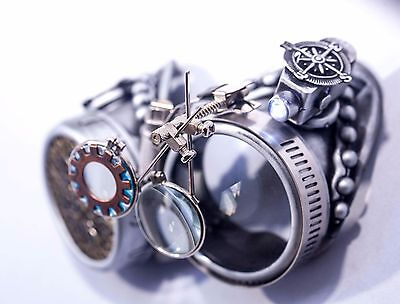 Steampunk Goggles Vintage Style Halloween Outfit Cosplay Accessories Gift - Vintage Halloween Ideas