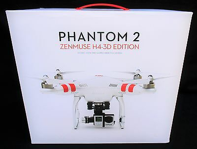 DJI Phantom 2 Quadcopter V2 Drone + 3-Axis H4-3D Zenmuse Gimbal For GoPro Notable4