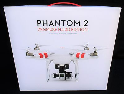 DJI Phantom 2 Quadcopter V2 Drone + 3-Axis H4-3D Zenmuse Gimbal For GoPro Hero4