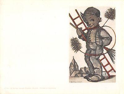 """RARITÄT Original Hummel Faltkarte um 1950 Ars sacra Verlag """"1469"""""""
