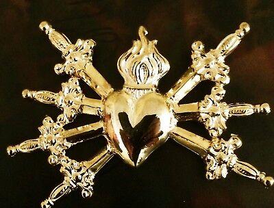 Which pierced heart X Addolorata Bagno Oro Or Ex voto