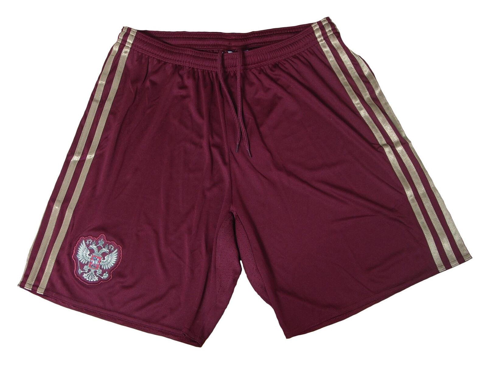 Russland RFU Shorts/Short Trikot Hose 2016 Home Adidas S L XL