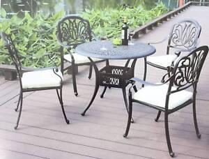 5 piece outdoor furniture set outdoor dining furniture gumtree rh gumtree com au