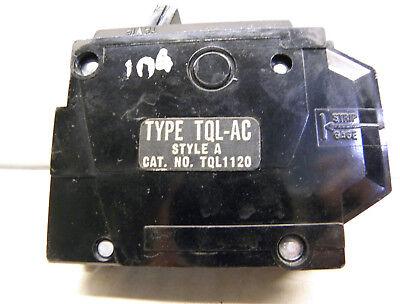 New THQB1120ST1 General Electric Circuit Breaker 1 Pole 20 Amp 240V Shunt Trip