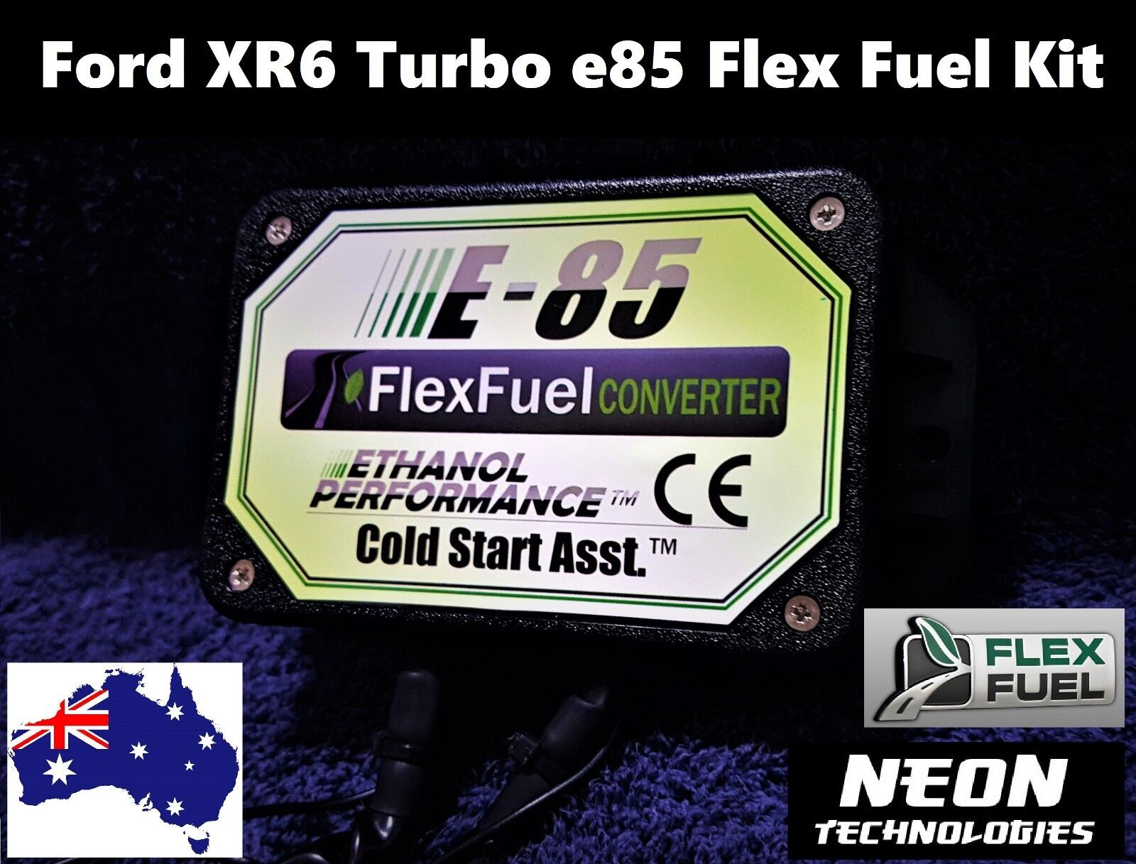 ford xr6 turbo e85 flex fuel conversion kit ba bf fg faclon ethanol injector ebay. Black Bedroom Furniture Sets. Home Design Ideas