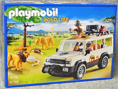 Playmobil 6798 Safari-Geländewagen mit Seilwinde WILD LIVE AFRIKA Neu