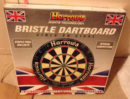 Dartboard- harrows Official Competition Bristle- New in box  Gilberton Walkerville Area Preview
