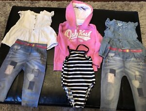 Girls 3/4T spring and summer lot
