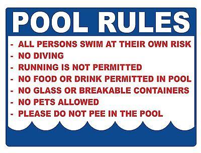 Седло POOL RULES - SIGN- #PS-509/10...LARGE