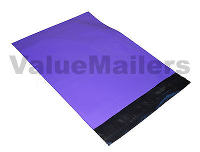 200 10x13 Dark Purple Poly Mailers Shipping Envelopes Boutique Quality Bags
