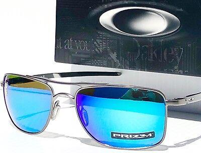 NEW* Oakley GAUGE 8 M LEAD 57mm Aviator PRIZM Sapphire Blue Sunglass (Oakley Pilot Sunglasses)