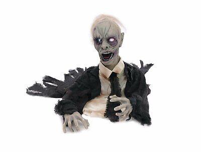 Halloween, Zombifigur zum Aufstellen, - Animierte Halloween