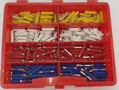 Torpedo Schmelzsicherung 200-teilig, 5 A, 8 A, 16 A, 25 A, je 50 Stueck! Set Box