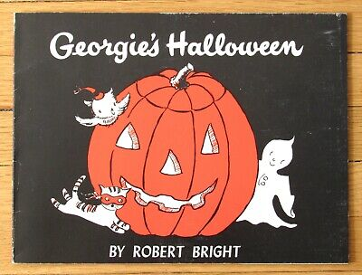 GEORGIE'S HALLOWEEN Robert Bright Troll Book Club 1958 PB Like New L3