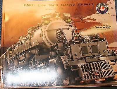 Lionel 2006 Train Catalog Volume 2