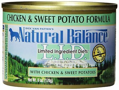 Natural Balance L.I.D. Limited Ingredient Diets Canned Wet Dog Food, Grain Free,