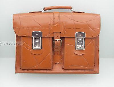 VINTAGE... Aktentasche Ledertasche 60er Jahre schweres Leder - sehr gut erhalten