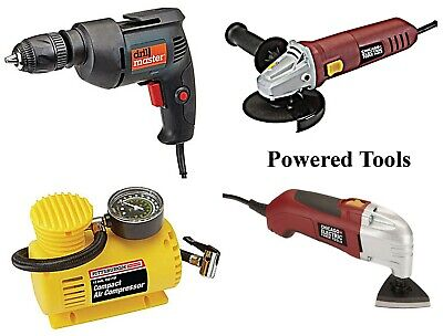 Powered Tools, corded Drills Angle Grinders MORE Harbor Freight best