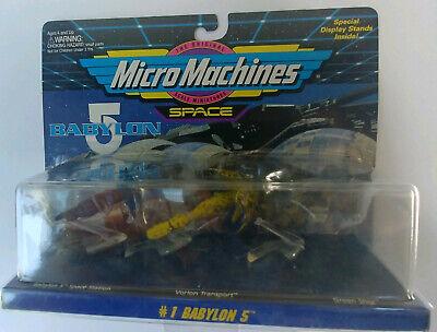 Babylon 5 Micro Machines set #1