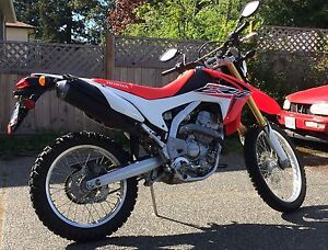 2015 Honda CRF 250L. Road driven only.