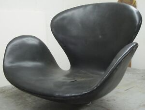 Vintage Danish Jacobsen SWAN CHAIR Fritz Hansen EARLY VERSION No Base SHELL  ONLY