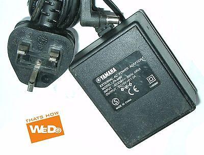 YAMAHA EXTERNAL AC POWER ADAPTER PA-M30 DC 15V 1.2A UK PLUG
