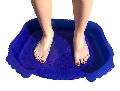 Hot Tub, Spa & Swimming Pool Foot Bath. Keep the Grit, Dirt and Yucky Feet Out!
