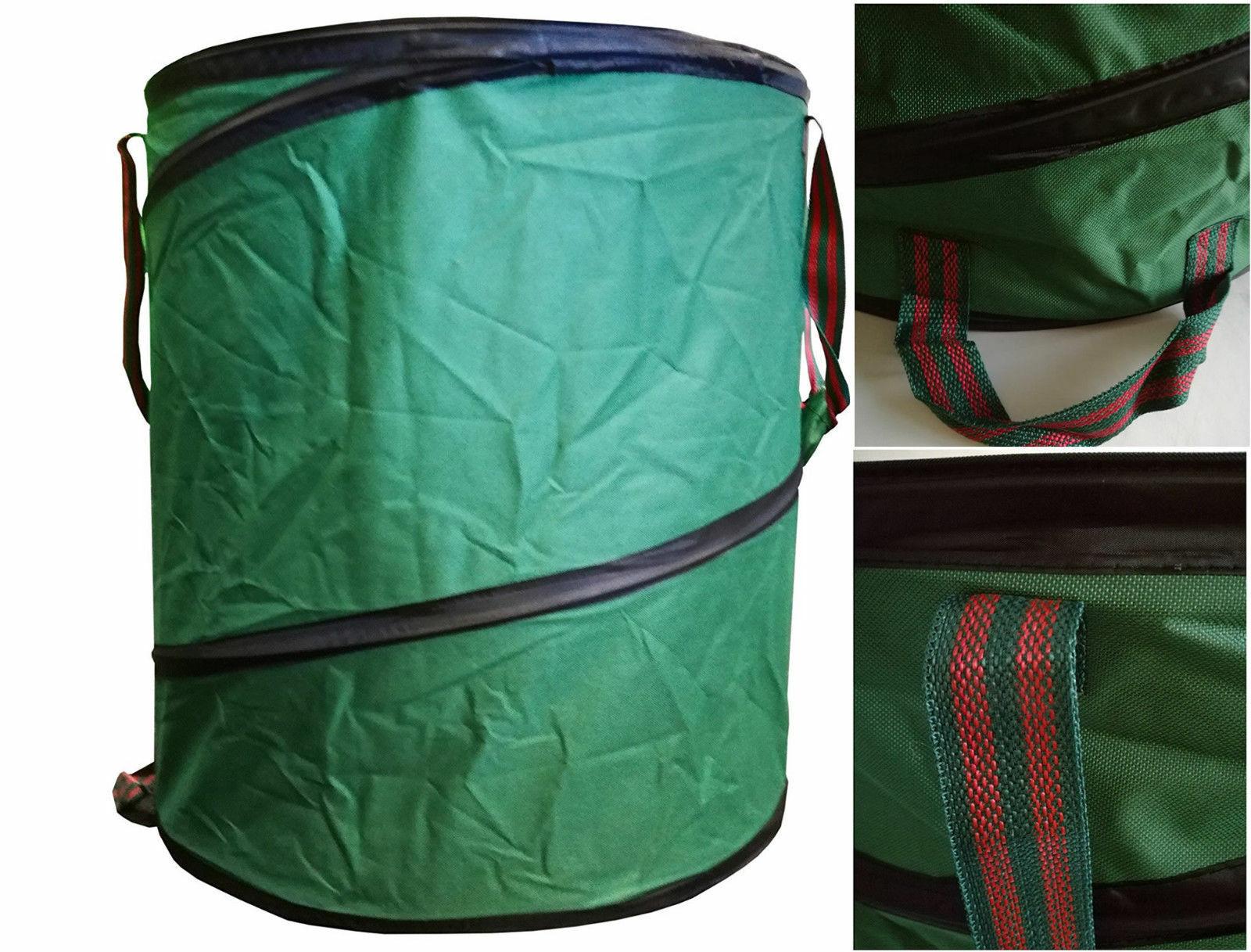Gartentonne Pop Up 160 Liter Gartenabfalltonne grün max. 50 Kilo Gartentasche