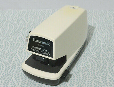 Panasonic As-300nn Commercial Electric Stapler Made In Japan Heavy Duty