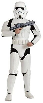 Mens Deluxe Stormtrooper Star Wars Official Licensed Fancy Dress Costume Outfit