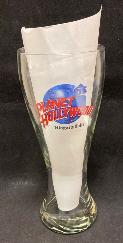 Planet Hollywood Niagara Falls Beer Pilsner Glass